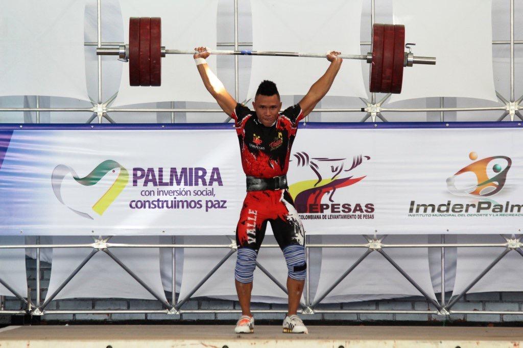 Palmira y el Valle lucieron en el Nacional de pesas