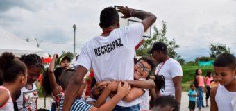 El programa Recreapaz continúa impactando las comunas TIOS de la ciudad de Cali