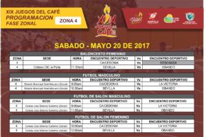 XIX Juegos del Café- Programación Fase Zonal @ La Paila, Zarzal, Valle del Cauca, Colombia | La Paila | Valle del Cauca | Colombia