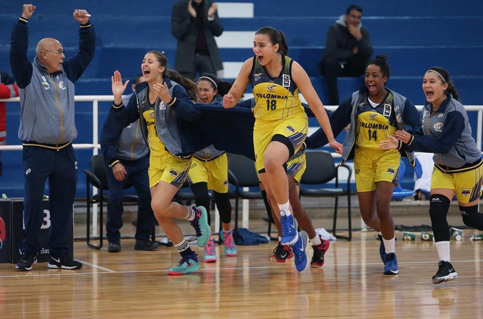 Con presencia vallecaucana, Colombia Sub16, por primera vez irá un mundial femenino de baloncesto