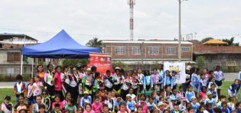 500 niños y niñas participaron en el Festival 'Los colores de mi tierra' con apoyo de Indervalle