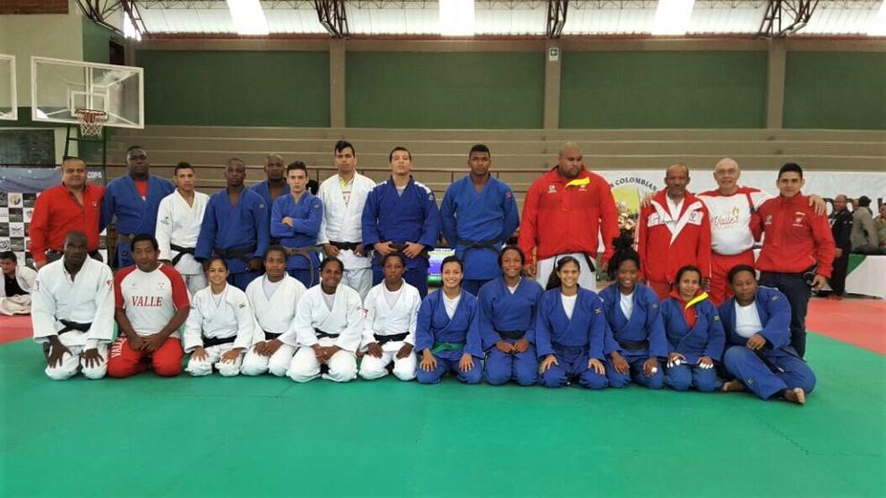 Nueve judocas vallecaucanos rumbo a Juegos Bolivarianos Santa Marta 2017