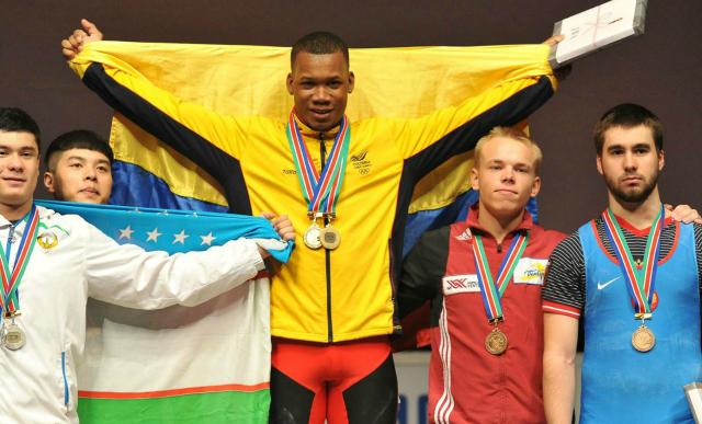 Vallecaucanos levantaron medallas de mucho peso