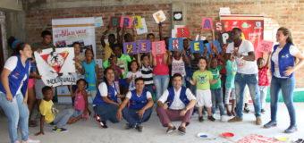 Gerente de Indervalle vivió la alegría y sueños de los niños del programa Recreapaz