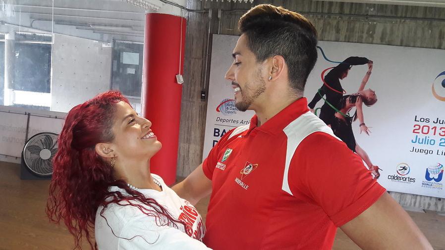 Steven's y Yinessa bailarán por Colombia en los Juegos Mundiales