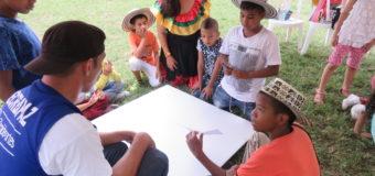 Recreapaz sigue llenando de sonrisas a los niños y niñas de Cali