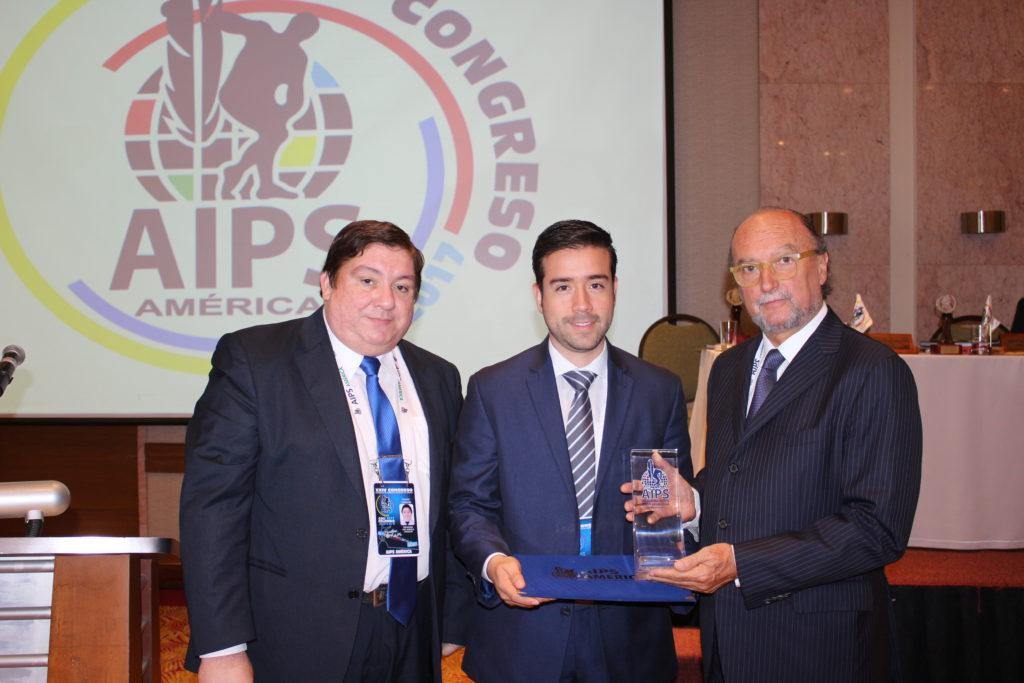 Asociación Internacional de Periodismo Deportivo exaltó gestión del gerente de Indervalle, Carlos Felipe López
