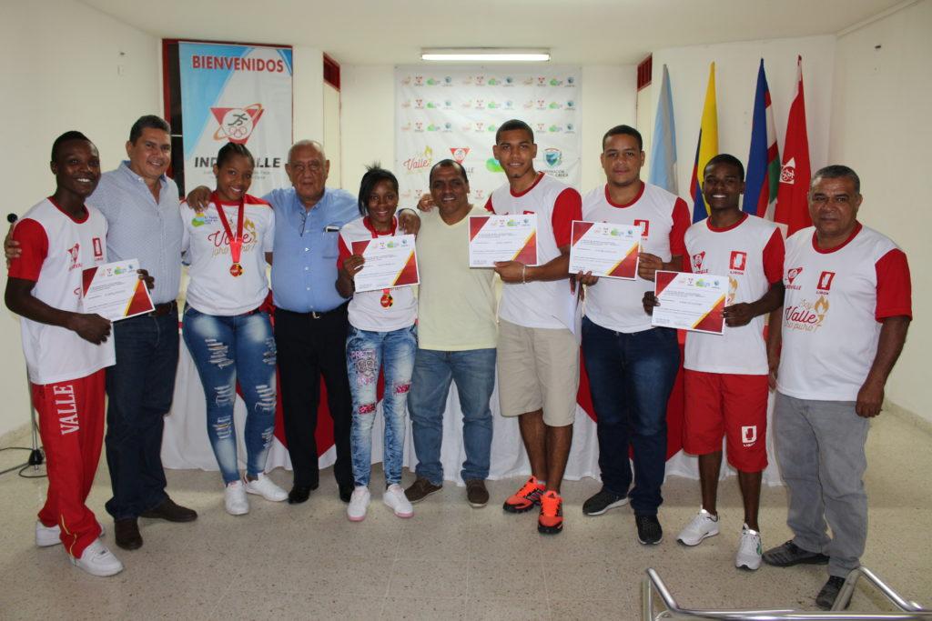 Campeones nacionales del Valle del Cauca, reconocidos por su labor deportiva