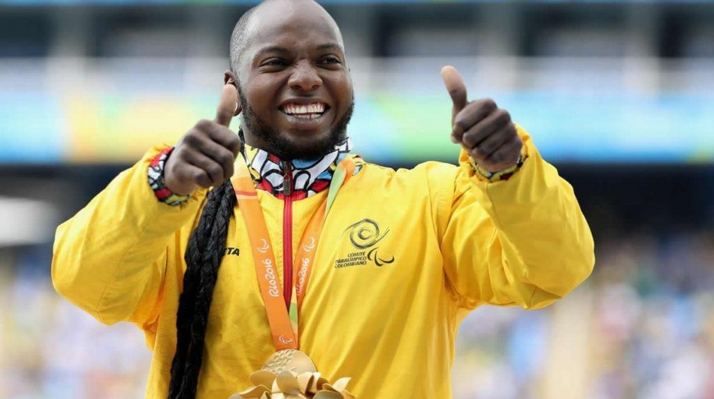 Atleta Valle Oro Puro Mauricio Valencia, elegido el mejor atleta paralímpico de América