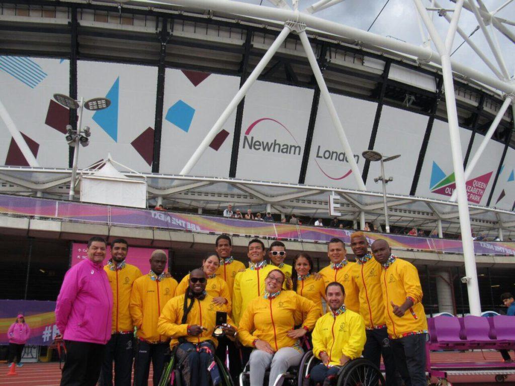 Atletas paralimpicos del Valle conquistan Londres con sus triunfos