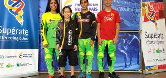 Talentos Supérate del Valle Oro Puro en el Campeonato Nacional BMX en Medellín