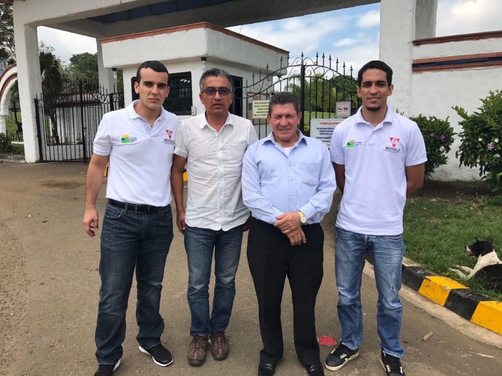 El Valle recibió nueva visita técnica para la final nacional de Juegos Supérate