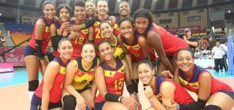 Colombia con base vallecaucana, inicia camino en el Suramericano femenino de voleibol