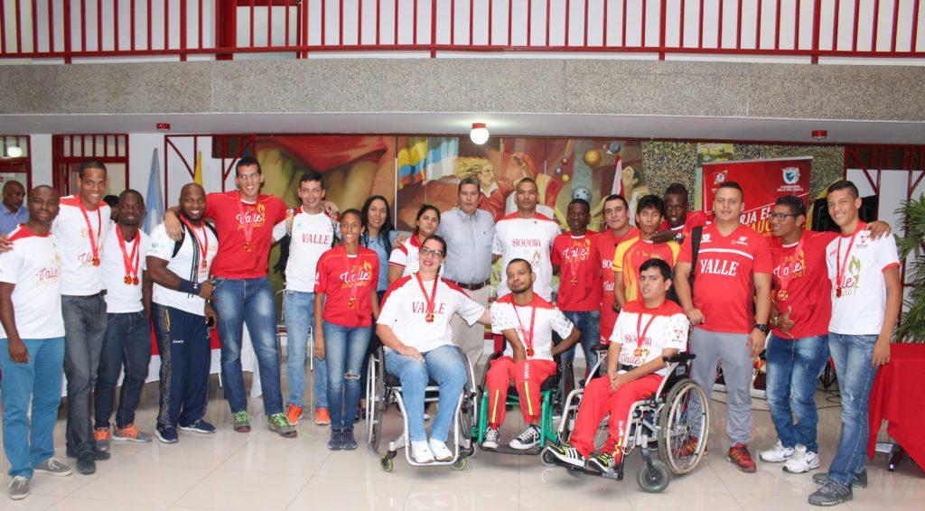 El deporte paralímpico vallecaucano, brilló en campeonatos internacionales