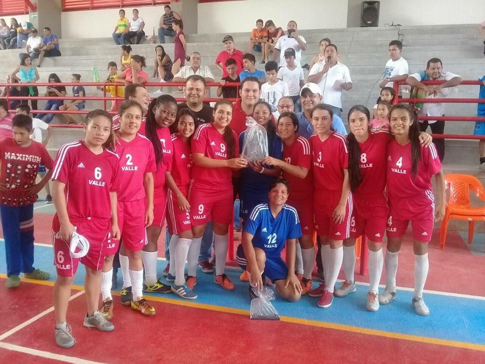 Valle Oro Puro y sus títulos nacionales de fútbol de salón
