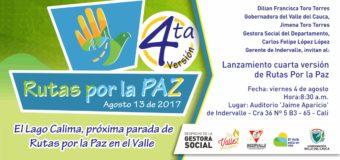 El Lago Calima se alista para recibir la cuarta edición de Rutas por la Paz