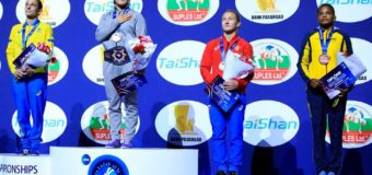 Vallecaucana Jackeline Renteria, medallista mundial de lucha
