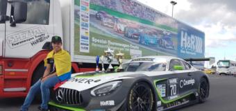 Dos victorias para Oscar Tunjo en la Categoría GT3 en Alemania