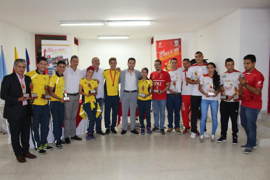 Indervalle le dio la bienvenida a campeones vallecaucanos, en Juegos Mundiales Wroclaw 2017