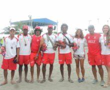 Surf y vela aportaron nuevas medallas al Valle Oro Puro en Juegos de Mar y Playa