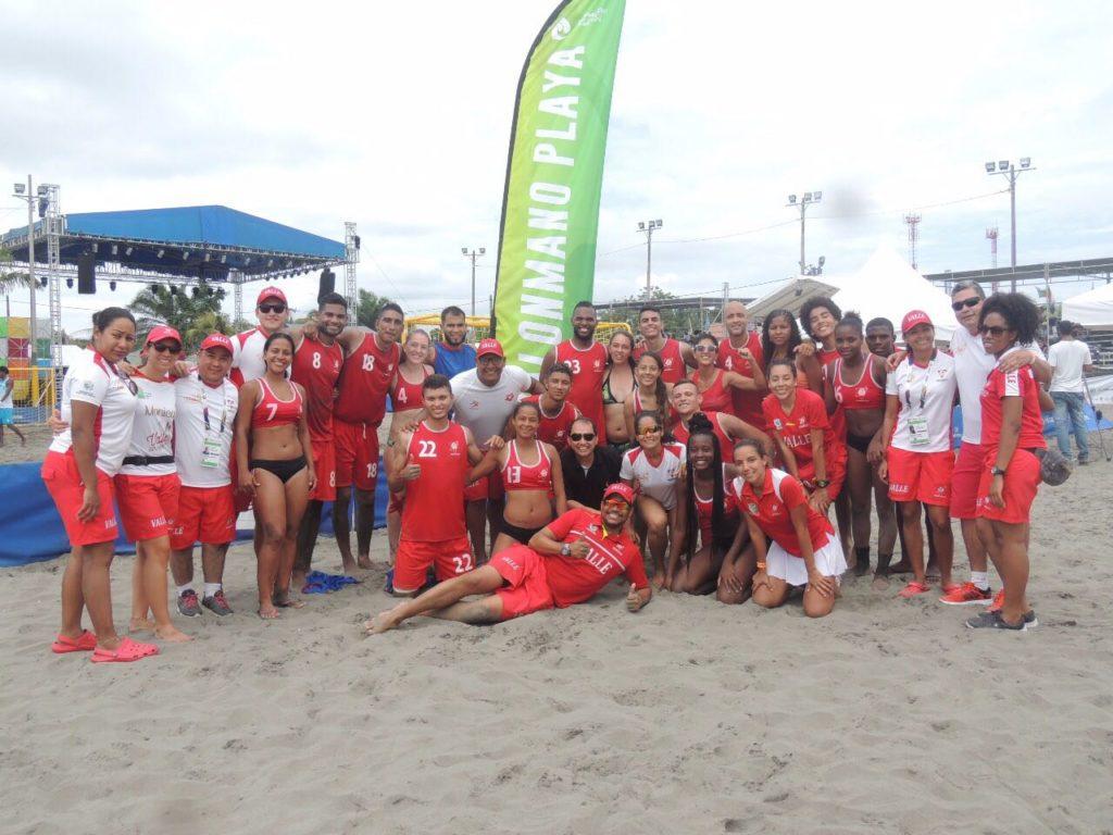 VALLE ORO PURO campeón de los Juegos Nacionales de Mar y Playa 2017