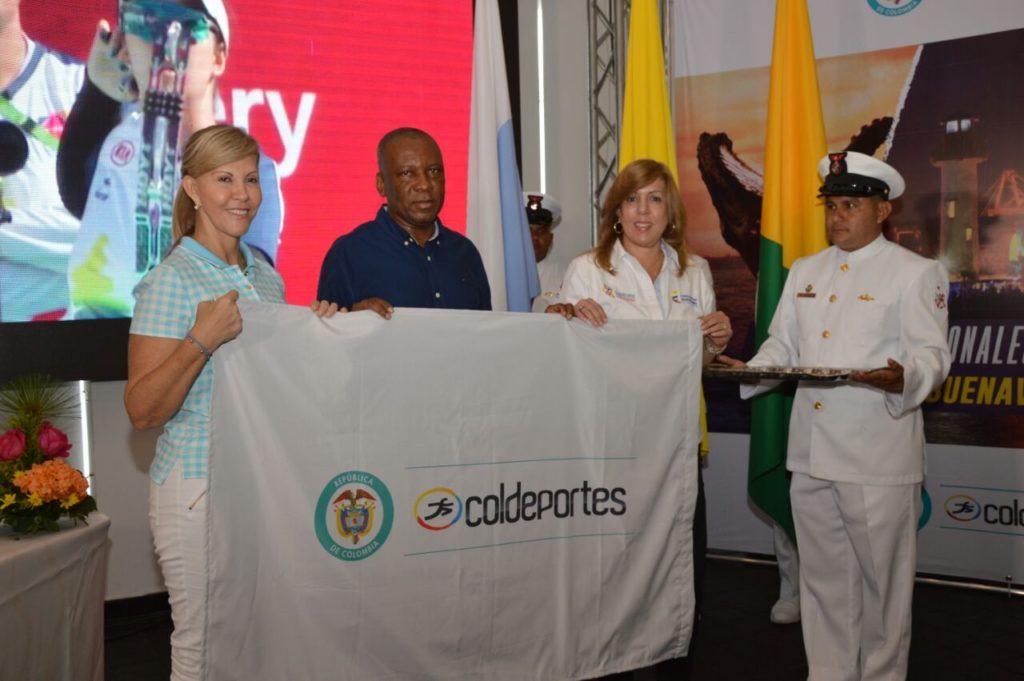 Buenaventura recibió la bandera de los Juegos Nacionales de Mar y Playa 2019