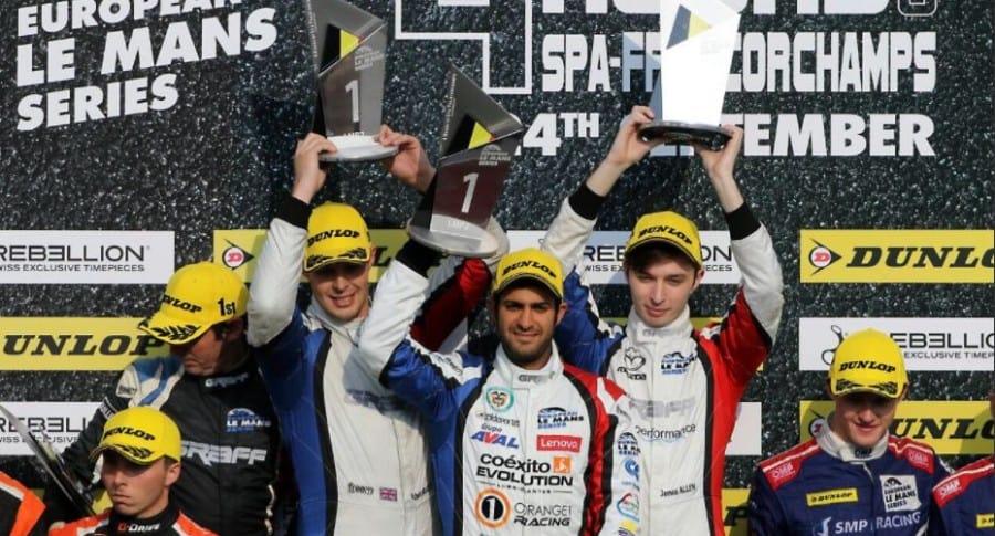 """Un """"Tigrillo"""" vallecaucano ganó en Las 4 horas del Spa-Francorchamps en Bélgica"""