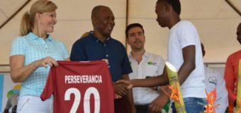 Gobernadora inauguró Mundialito de Valores-Sub 17 por la convivencia en las comunas de Buenaventura