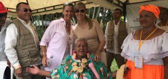 Adultos mayores de Nuevo Comienzo disfrutaron al lado de la gobernadora del Valle en la fase departamental