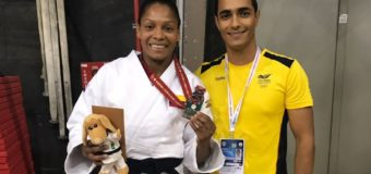 Vallecaucana yuri Alvear ganó bronce en Mundial de Judo