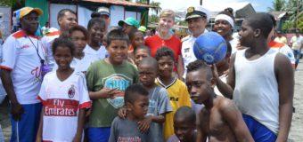 Juanchaco tendrá Escuelas Deportivas para la Paz