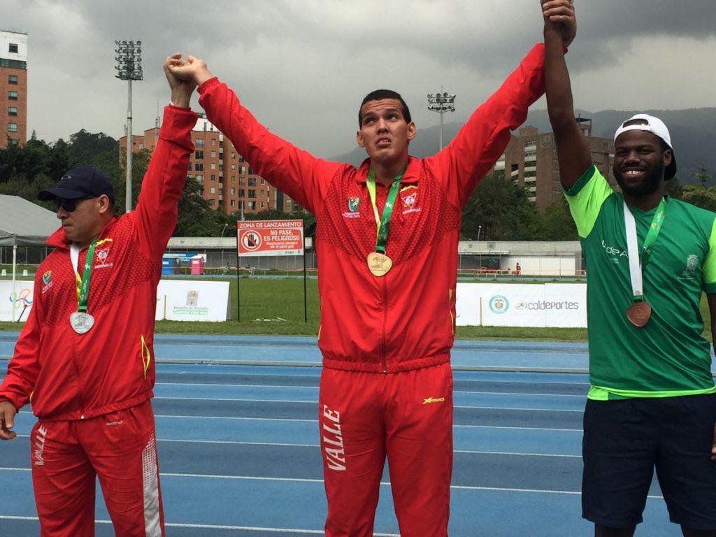 Valle del Cauca se alzó con el título del Open Nacional de Para-atletismo Medellín 2017