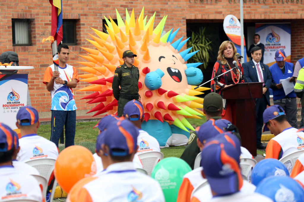 El fuego bolivariano llega a Cali este jueves