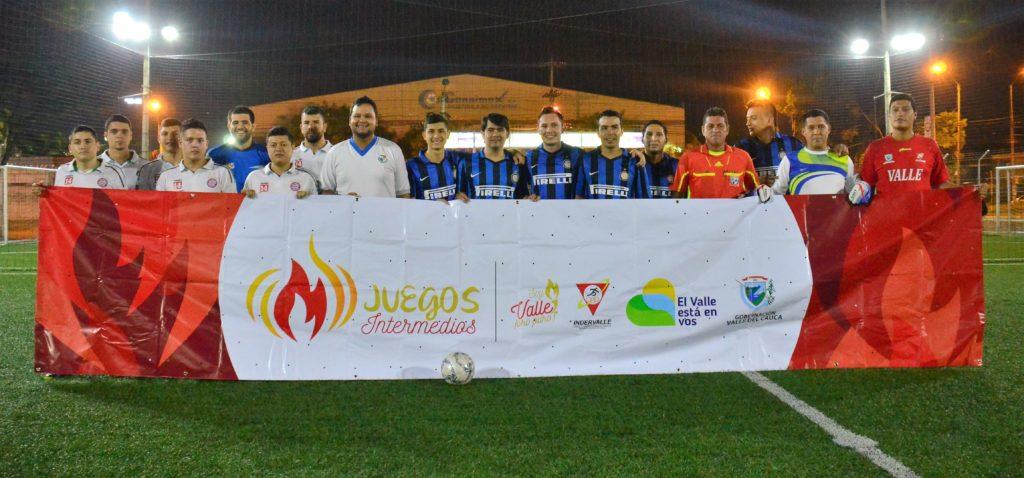 Este miércoles inicia el fútbol de salón de Juegos Intermedios Valle Oro Puro 2017