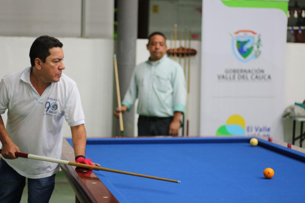 90 Minutos dominó en el billar de Juegos Intermedios Valle Oro Puro 2017