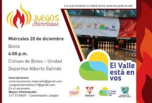 Juegos Intermedios @ Unidad Deportiva Alberto Galindo | Valle del Cauca | Colombia