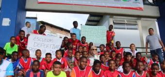 Gobernadora del Valle  y Directora de Coldeportes visitaron obra del Polideportivo El Cristal en Buenaventura