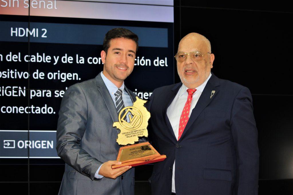 El Valle Oro Puro fue exaltado en la gala de los premios Acord Valle, a lo mejor del deporte en el 2017