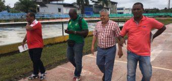 Equipo técnico de Indervalle inspeccionó escenarios deportivos en Buenaventura con miras a 2019
