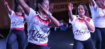 Las mujeres vallecaucanas se mueven al ritmo de las maratones aeróbicas