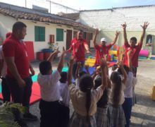 Con fisioterapia, programa psicomotricidad afianza desarrollo integral de niños vallecaucanos