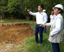 Gerente de Indervalle visitó obra de recuperación del Eco Parque del río Pance
