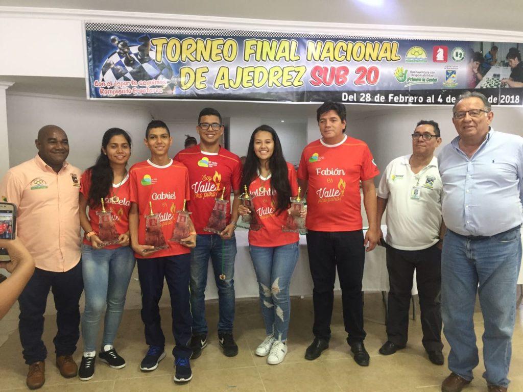 Valle del Cauca suma nuevos triunfos en el ajedrez nacional