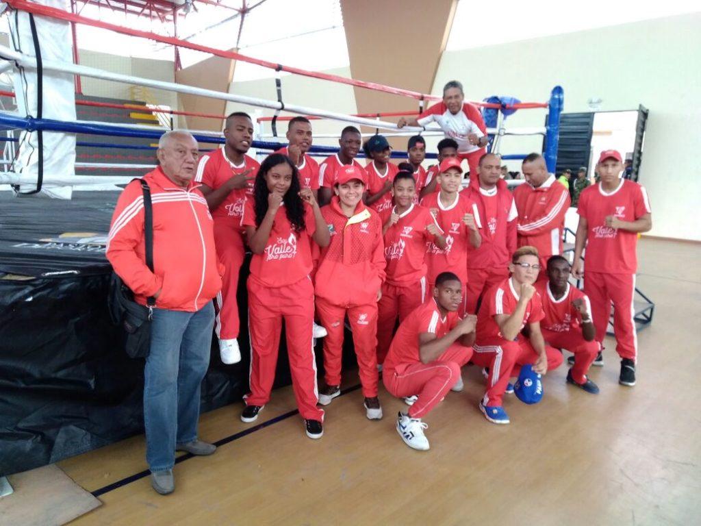 En el ring nacional, los juveniles del Valle del Cauca conectaron puños dorados