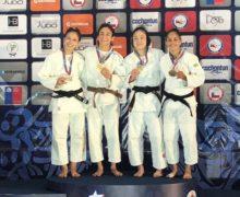 Erika Lasso, figura en el Panamericano de Judo