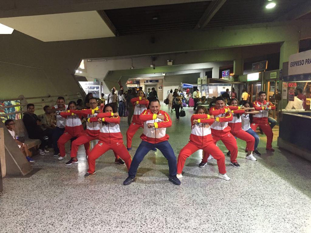 Monitores vallecaucanos participan en el Vl Curso Nacional Teórico Práctico de Actividad Física Musicalizada