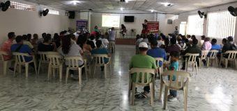 Los habitantes de San Pedro recibieron la primera reunión de auditoria visible para la Adecuación del Estadio municipal