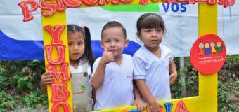 Psicomotricidad celebró a lo grande el Mes de la Niñez en Yumbo