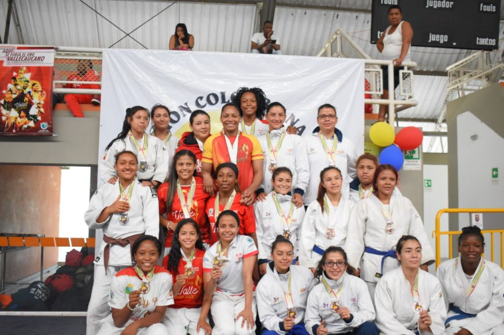 Judocas vallecaucanos ratificaron hegemonía nacional en Cali