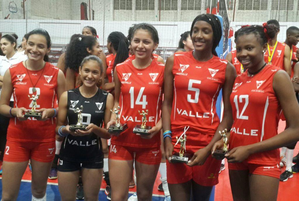 Voleibolistas del Valle, reyes absolutos del Nacional Menores